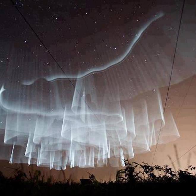 am aurora borealis finland veils are thin